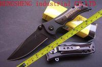 NEW Browning Ebony Wood Folding Pocket Knife BR339B Free shipping