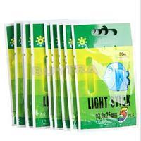 2015 Newest Hot Sale 50Pcs Fishing Night Fluorescent Light High Quality Float Glow Stick Lightstick 4.5*37mm