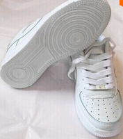 2015 new men and women shoes white high help low white sneakers