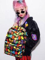 Free Shipping Oscar Character Portrait Backpack Fashion Backpacks For Teenage School Bag