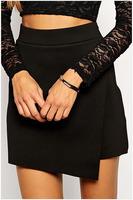 Free Shipping 2015 Sexy Fashion Sexy Gauzy Maxi Skirt with Leopard Shorts NA71076 Casual Women Long Bodycon Skirts