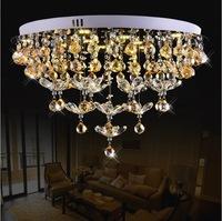 New arrival modern crystal ceiling light,luxury crystal led ceiling lamp,elegant crystal ceiling lamp