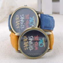 Fashion Jewelry Men women quartz watches with cartoon watch Causal clock female Wristwatches Woman watches  FYMPJ058A1