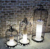 Free shipping iron, antique, European modern, floor, hotels, restaurants, birdcage chandeliers, special