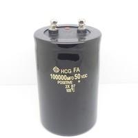 Free shipping  1pcs/lot  50v 100000uf 50v  Electrolytic Capacitor Radial 75x120mm