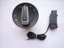 New Auto Headlight Sensor Module & Switch Kit For VW Golf MK6 Jetta MK5 Passat B6(Hong Kong)