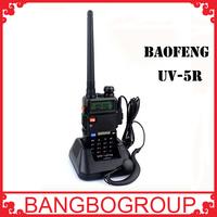 Hot sale Walkie Talkie UV-5R Baofeng UV 5R for radio vhf uhf dual band 136-174 400-520MHZ two way radio station portable