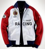 Wholesale US Brand Mens Polo Car Racing Hoodies Tracksuit Good Quality Casual Moto Jacket Team Coats Polo Sports Sweatshirt