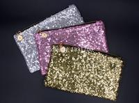 women messenger bags New women wallet Fashion Style Sparkle Spangle clutch purse evening bags Ladies Handbag