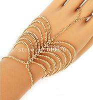 Slave Bracelet Fashion Multi Hand Bracelet  Link Finger Chain Hand Jewelry