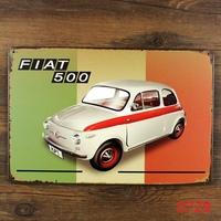 T 500 CAR METAL Poster Vintage TIN SIGN Craft Pub Decor  H-116 Mix order 20*30 CM