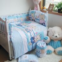 With Filler 2015 Baby bedding bed around crib nursery bedding baby bedding cribs cotton 100% bed cot bumper unpick washkit