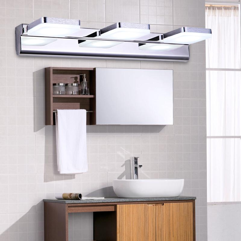 Badkamer Hout Natuursteen ~   badkamer spiegel verlichting waterdicht roestvrij staal badkamer