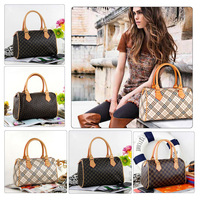 Korean Style Lady PU Leather Handbag Women Tote Fashion Bag Purse