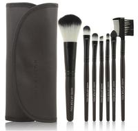 HOT !Professional 7 Pcs Makeup Brushes Set tools High Quality Facial Cosmetics Make-up Toiletry Kit Wool makeup  Brush Set Case