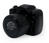 Free shipping Y3000 the smallest Mini HD 720P Video Camera with retail box with 5pcs/lot