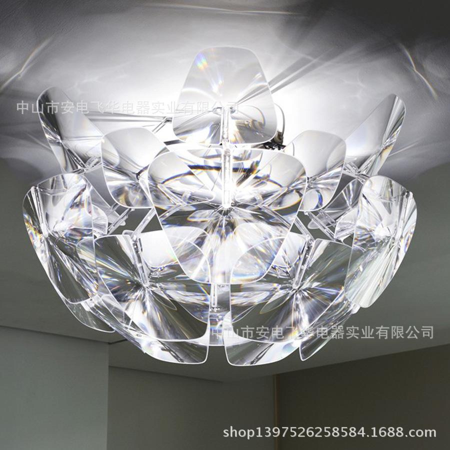 Luceplan Large modern minimalist transparent laser films of hope Apple pineal wholesale Ceiling(China (Mainland))