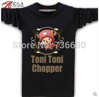 One Piece Print Monkey.D.Luffy Round Nle'eck Anime Fashion Couples T-Shirt Tony Chopper ZoroEdward Newgate  Teenage Cub T Shirt