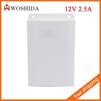 12V 2.5A Power Supply Waterproof Outdoor for CCTV PTZ Camera  Woshida