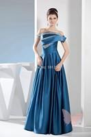 Beautiful blue wiping a bosom of Prom Dresses