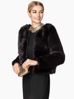 2015 New Faux Fur Women Coats Winter Long Sleeve Warm Fur Coat Jacket Overcoat Ladies Outerwear in Stock casaco de pele