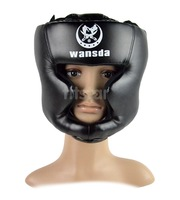 Boxing helmet Closed type boxing head guard Sparring MMA Muay Thai kick brace Head protection TK0783 3F