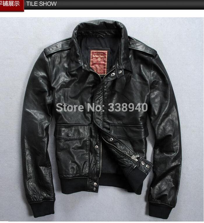 Короткие Мужские Кожаные Куртки Купить