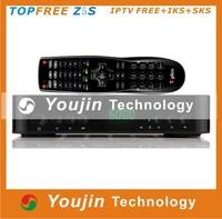 Receptor Original Azfox Z5c with Twin Tuners Sks Iks Dvb S2 Satellite Receiver Support Iptv free Usb Wifi Youtube Topfree Z5s