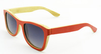 Brand Men's Von Zipper Sunglasses Sport Cyling Glasses Women Wooden&Bamboo  oculos de sol masculino gafas with Original cloth