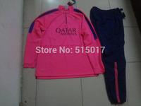 hot selling La liga  training tracksuit  La liga  football long pant La liga sweater training  Thai quality  2015