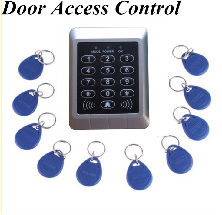 Fashion New Arrival RFID Reader & Keypad Door Access Control Waterproof Keypad Case +10 keys(China (Mainland))