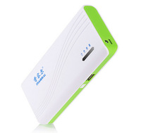 Universal high capacity 10400mAh power bank compatible with Lenovo/Huawei/ZTE mobile phone external battery Free Shipping