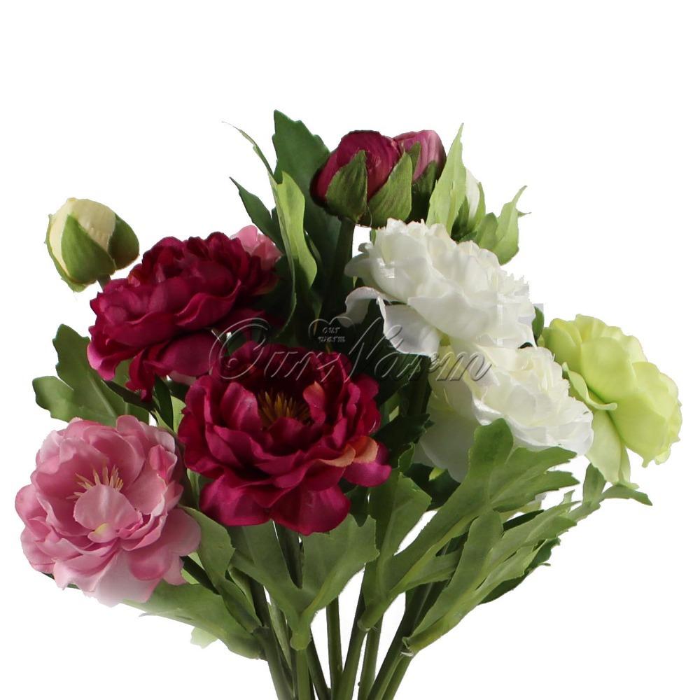 Искусственные цветы для дома 12Pcs/lot Multicolors Touch 2GYH-LL-12 bubchen шампунь для мытья волос и тела зов джунглей bubchen 230 мл