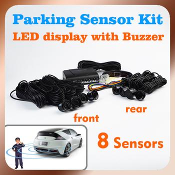 Бесплатная доставка стоянка для автомобилей система с 8 датчики 22 мм + из светодиодов ...
