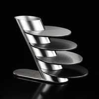 High Quality 4PCS/Set 304 Stainless Steel Potholder Coaster Cup Drinks Glass Mat Bowl Pad