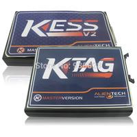 Newest Ksuit V2.10 kess v2 OBD2 Manager Tuning Kit master+K-TAG KTAG ECU Programming Tool No token limit auto ecu programmer