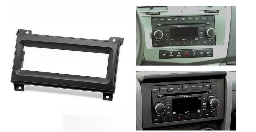 Din Audio Fascia for JEEP Grand Cherokee DODGE Durango Radio CD GPS DVD Stereo CD Panel Dash Mount Installation Trim Kit Frame(China (Mainland))