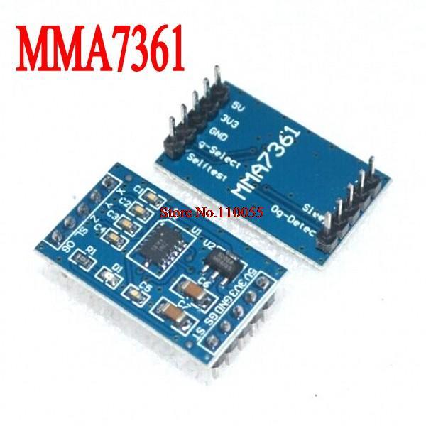 MMA7361 MMA7260 Arduino Accelerometer Sensor Module 3-Axis