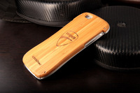 2015 Newest DRACO DUCATI Wood Case For iPhone 6 4.7 inch Aluminum Metal Wooden Protective Cover + Free Film