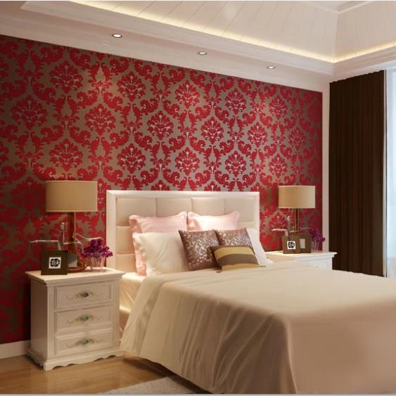 Rode kleur slaapkamer spscents