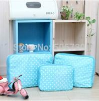 Free Shipping 3pcs/set KA BAS Travel Clothes Storage Bags Set,Packing Cube Bags, Travel Luggage Organizer Bags
