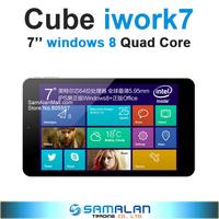 "7"" Cube U67GT iwork7 windows 8 tablet pc IPS Z3735G Quad Core 2GB+32GB HDMI OTG Dual Camera Bluetooth WIFI"