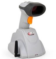hot sale 2.4G Wireless Long Distance Induction Transmission Handheld Laser Scan Barcode Bar Code Cordless Scanner Reader Gun POS