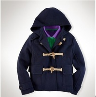633# dark blue outerwear coats for boys age 2-6 years old