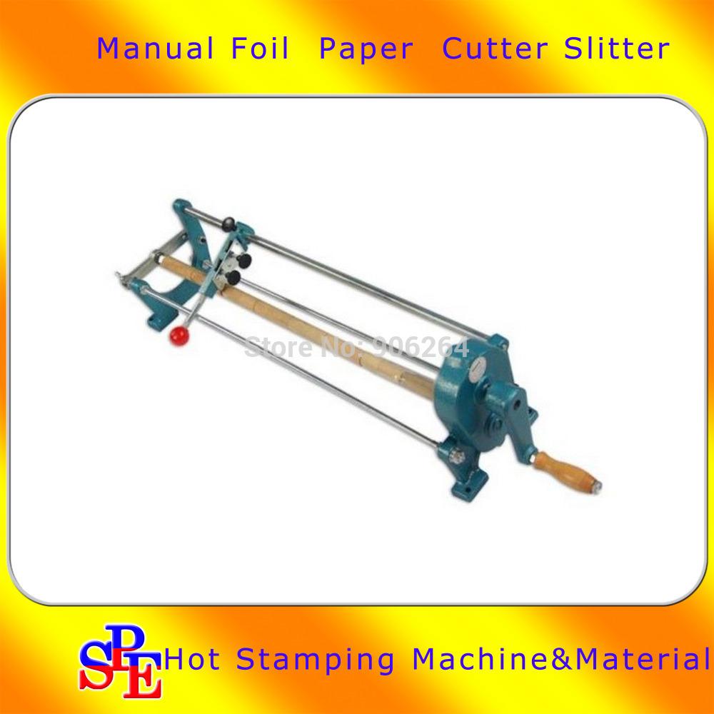"26"" Foil Paper Cutter Slitter Hot Foil Stamping Roll Cutting Machine Core 0.9""(China (Mainland))"