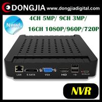 DONGJIA DA-3516M cctv 16ch h.264 16 channel dvr 16 ch nvr 1080p full hd hdmi mini recorder system 4ch 5mp onvif p2p 30fps nvrs