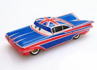 100% original-- RAMONE BRITISH FLAG   Pixar Cars diecast figure TOY
