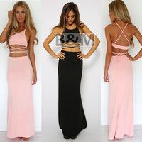 Ebay burst sexy nightclub dress fashion two piece suit nightclub bandage dress dress a issuing