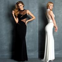 Europe women dress eBay aliexpress Europe gauze bag hip  dress CY554 Club