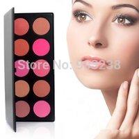 Hot Sales! Pro 10 Color Makeup Cosmetic Blush Blusher Powder Palette